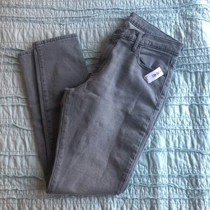 Old Navy gray Curvy Skinny jeans. Discontinued.
